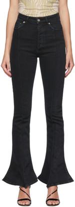 Y/Project Black Trumpet Jeans