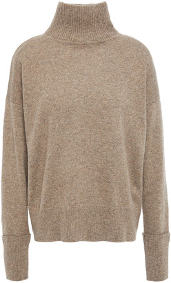 Autumn Cashmere Melange Cashmere Turtleneck Sweater