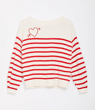 LOFT Maternity Love Struck Sweater
