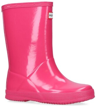 Hunter First Classic Gloss Wellington Boots