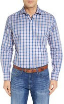 Peter Millar Men's 'Beacon' Regular Fit Plaid Sport Shirt