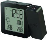 Oregon Scientific Weather Forecaster, Dual Alarm, Indoor-Outdoor Thermo Projection Atomic Clock