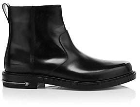 Salvatore Ferragamo Men's Sefton Leather Ankle Boots