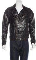 Hollywood Trading Company Hazard Embellished Leather Jacket w/ Tags