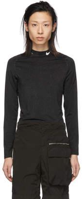 Alyx Black Nike Edition Glitter Training Long Sleeve T-Shirt