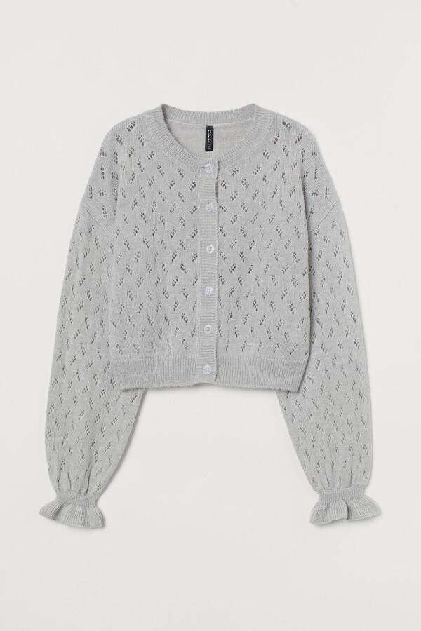 H&M Pointelle-detail cardigan