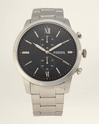 Fossil FS5546 Silver-Tone Townsman Chronograph Watch