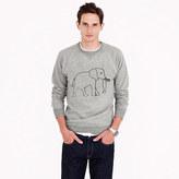 J.Crew Men's for David Sheldrick Wildlife Trust elephant sweatshirt