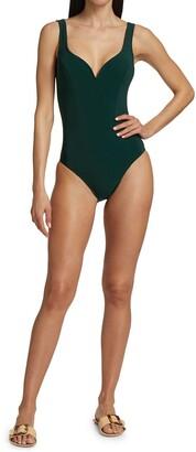 Karla Colletto Swim Noa V-neck One-Piece Swimsuit
