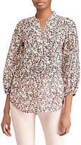 Lauren Ralph Lauren Druzetti Floral Tunic Top, Blush