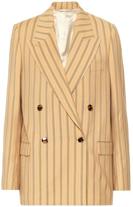 Acne Studios Striped wool blazer