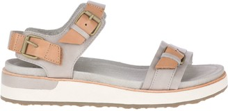 Merrell Leather Sport Sandals - Roam Buckle