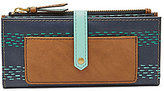 Fossil Keely Striped Tab Wallet