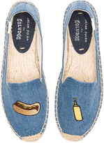 Soludos Embroidered Smoking Slipper