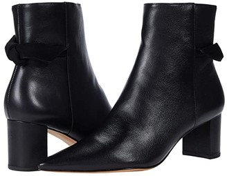 Alexandre Birman Clarita Pointed Boot 60 (Black Nappa Kiss/Suede) Women's Shoes