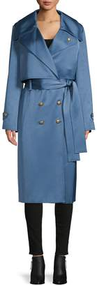 Lanvin Double-Breasted Trench Coat