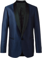 Versace geometric jacquard tuxedo jacket - men - Silk/Cotton/Cupro/Virgin Wool - 50