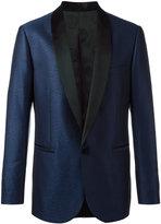 Versace geometric jacquard tuxedo jacket
