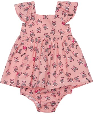 Moschino Printed Jersey Dress W/ Diaper Cover