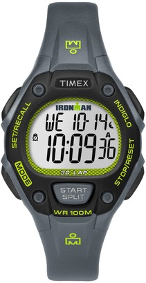 Timex Ladies Ironman Chronograph Gray Digital Sport Watch