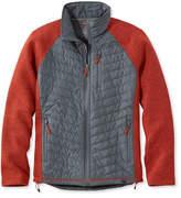 L.L. Bean Wool Tek Mixed Media Jacket, Colorblock
