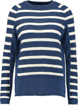 MiH Jeans Hutton striped merino wool sweater