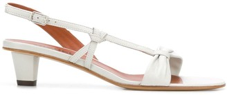 Michel Vivien Hiro asymmetric sandals