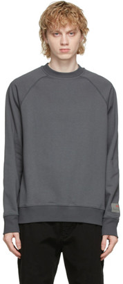 Paul Smith Grey Organic Cotton Sweatshirt