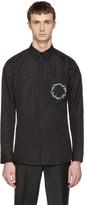 Givenchy Black Floral Crest Shirt