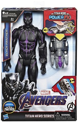 Marvel Titan Hero Power FX Black Panther Action Figure