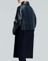 Jil Sander Proust Paneled Combo Coat