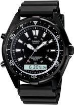 Casio Mens Black Dive Watch AMW320B-1A
