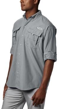 Columbia Men's Pfg Tall Bahama Ii Long Sleeve Shirt