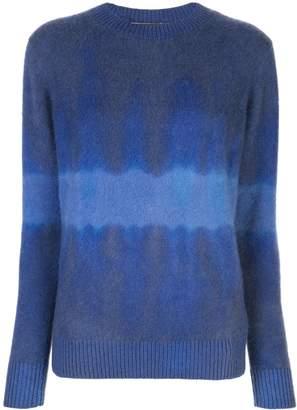 The Elder Statesman tie-dye long sleeve sweater