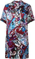 Kenzo Paisley Pattern shirt dress