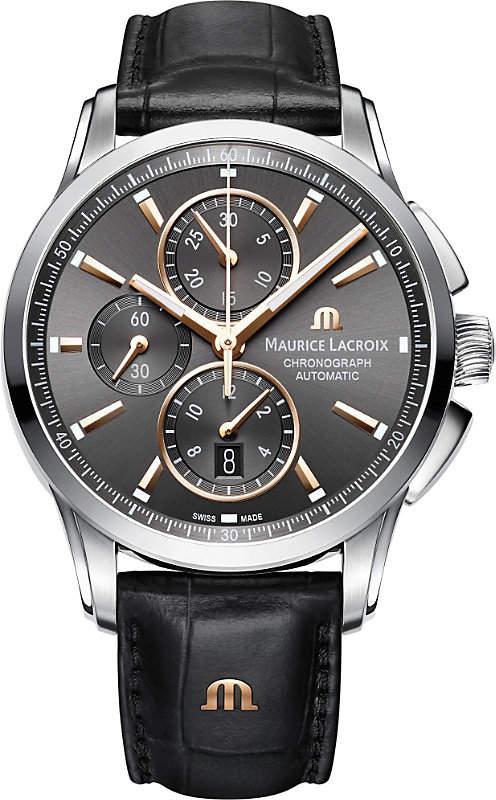Maurice Lacroix Pontos PT6388-SS001-331-1 chronograph watch