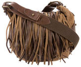 Isabel Marant Suede Fringed Crossbody