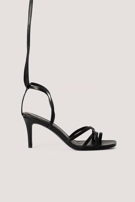 NA-KD Ankle Strap Stiletto heels