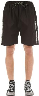 Tdt   Tourne De Transmission Hannon Cotton Shorts W/ Side Bands