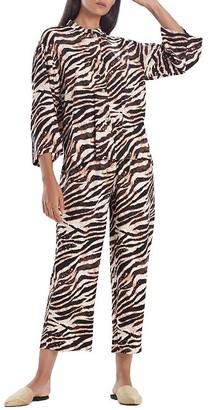 N Natori Dune Satin Pajama Set