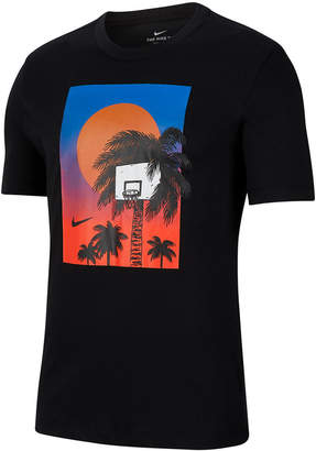 Nike Men Dri-fit Graphic Basketball T-Shirt