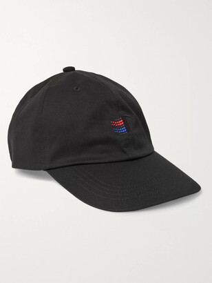 Flagstuff Embroidered Cotton-Twill Baseball Cap
