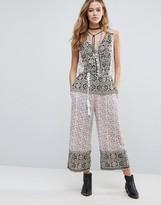 Raga Morgan Printed Jumpsuit