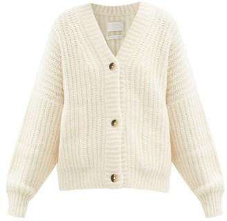 LAUREN MANOOGIAN Grandma Cotton And Alpaca-blend Cardigan - White