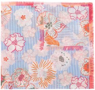 Escada Sport Floral Print Scarf