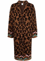 Thumbnail for your product : M Missoni Floral-Pattern Cardi-Coat