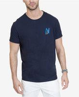 "Nautica Men's Big & Tall ""N"" Logo T-Shirt"