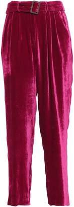 Forte Forte Forte_forte Belted Velvet Wide-leg Pants