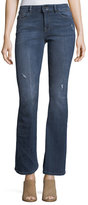 DL1961 Bridget Instasculpt Boot-Cut Jeans w/ Distressing