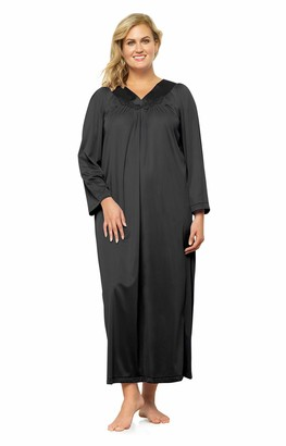 Exquisite Form Plus Size Women's Long Sleeve Ankle Length Gown 50807